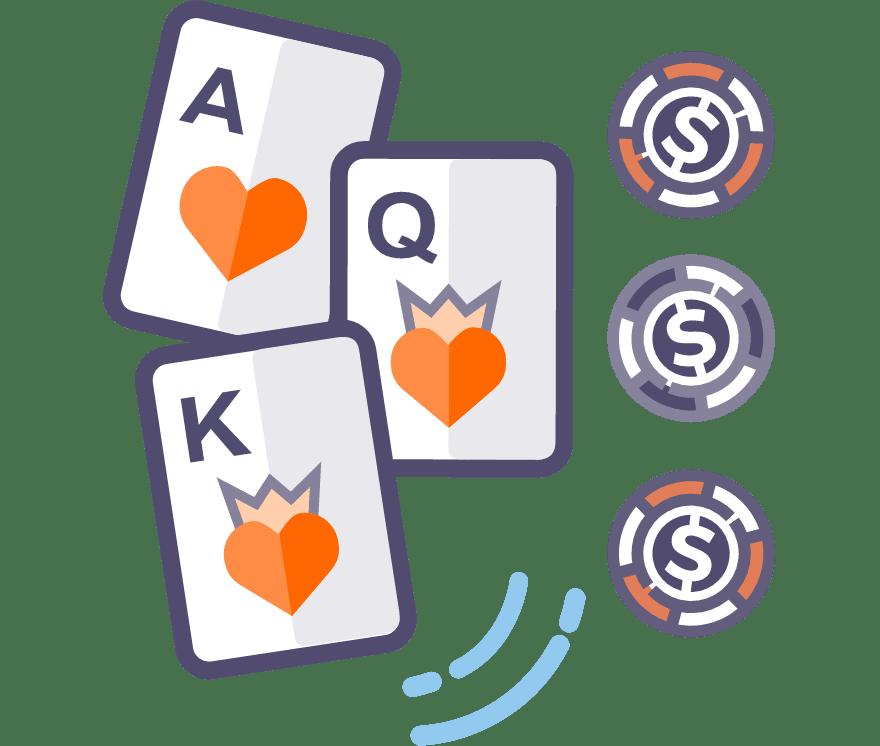 Los 61 mejores sitios de Casino de Póker de tres cartas en línea en Venezuela
