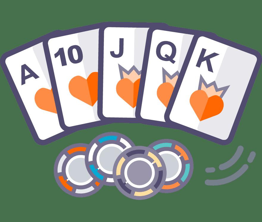 Los 58 mejores sitios de Casino de Texas Hold'em en línea en Venezuela